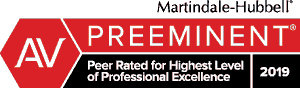 Preeminent Peer Rated Professional Excellence